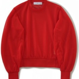 TOGA PULLA - High Twist Jersey Pullover (red)