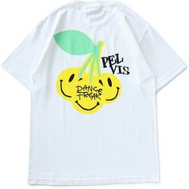 PELVIS - 'Cherry Freak' Tee (white)