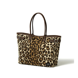 "HEAD PORTER - ""LEOPARD"" TOTE BAG (M)"