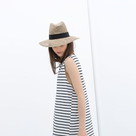 ZARA - hat and border