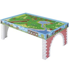 Lerning Curve - Thomas Train Island of Sodor Wooden Play Table Large