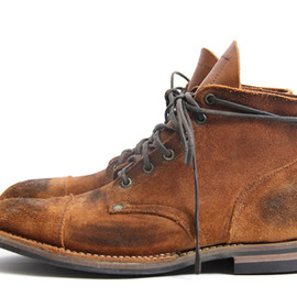 Nigel Cabourn x Viberg  - Nigel Cabourn x Viberg Service Boots for Spring/Summer 2012