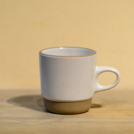 HEATH CERAMICS - Stack Mug-Opaque White