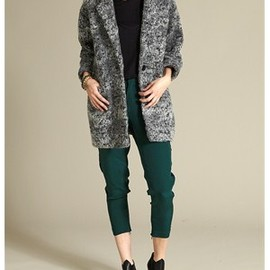 DESIGNERS REMIX SIGN - Wool boucle jacket