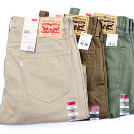 Levi's USA - 505-Straighit Fit (US Model)