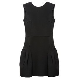 miu miu - Cady crew-necked flared dress