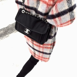 CHANEL - CHANEL and check coat