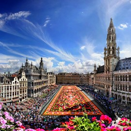 La Grand-Place, Brussels - Flower Carpet