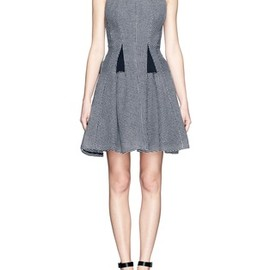 THAKOON - Textured flare dress