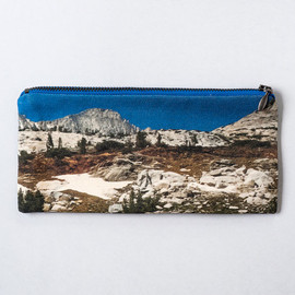 LeeCoren - Landscape Cotton Pencil Pouch and Makeup Bag