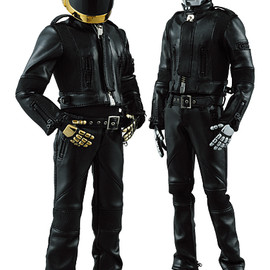 MEDICOM TOY - RAH Guy Manuel de Homem-Christo (HUMAN AFTER ALL ver.)/Thomas Bangalter (HUMAN AFTER ALL ver.)