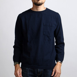 Goodwear - RIB L/S POCKET TEE