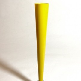 "アメリカン・アールデコ - 1930's ""The Dura Co."" Bud Vase【YELLOW】"