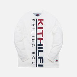 KITH, TOMMY HILFIGER - Kith x Tommy Hilfiger Sailing L/S Tee - White