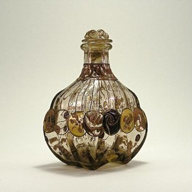 Émile Gallé - Art Nouveau Perfume Bottle, circa 1880