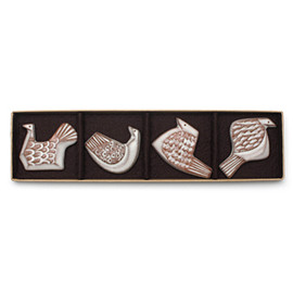 BIRDS' WORDS - 「BIRD TILE」I・J・K・L / 4pcs set