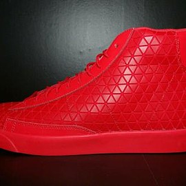 Nike - NIKE BLAZER MID METRIC QS UNIVERSITY RED/UNIVERSAITY RED
