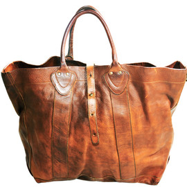 RRL - RRL  2WAY LEATHER TOTE BAG