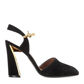 MARNI - Mary-Jane suede pumps