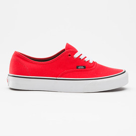 VANS - Canvas Authentic Fiery Red/Black