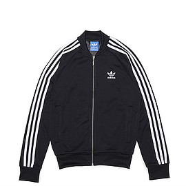adidas Originals - Super Star Track Top-Black