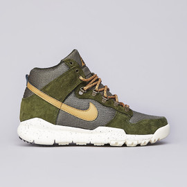 Nike ACG, NIKE - Dunk High OMS - Light Green/Flat Gold/Medium Olive