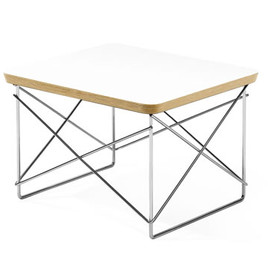 Herman Miller - Wire Base Table (White) by Charles & Ray Eames