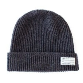 visvim - KNIT BEANIE (WOOL) BROWN