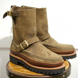 """RUSSELL MOCCASIN - FOOBER別注RUSSELL MOCCASIN CAVALIER 9"""" TRIPLE VAMP CHOCOLATE"""