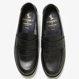 nonnative - nonnative DWELLER LOAFER COW LEATHER WITH GORE-TEX 2L BY REGAL