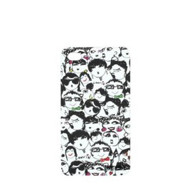 LANVIN - Face print iPhone 4G case