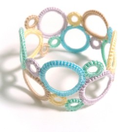 mokor - ring×ring bangle(マカロン)