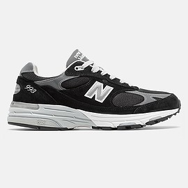 New Balance - New Balance Made in US 993, MR993BK, Black with Grey