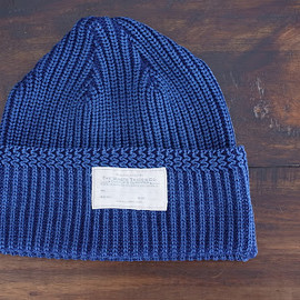 WASTE(TWICE) - indigo army watch cap