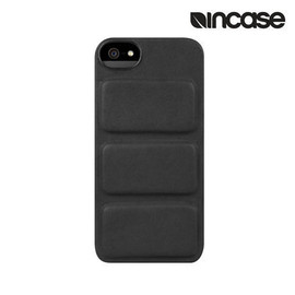 incase - Leather Mod Case for iPhone 5/5s Black premium leather