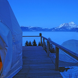 Switzerland - Whitepod Eco Hotel