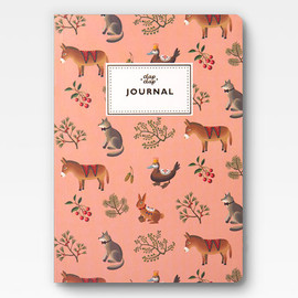 Clap Clap - Farm Animals Journal - Peach -