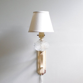 Vintage Sconce Lamp with Shade
