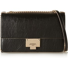 Jimmy Choo - Rebel textured-leather shoulder bag