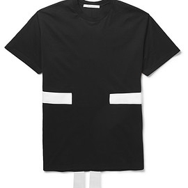 Givenchy - Band-Trimmed Cotton-Jersey T-Shirt