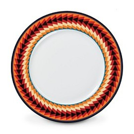 PENDLETON - Suwanee Stripe Dinner Plate, Set Of 4