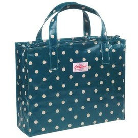 Cath Kidston - Carry All Bag Spot Peacock