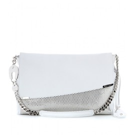 JIMMY CHOO - ALLY STUDDED LEATHER SHOULDER BAG