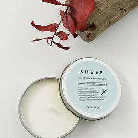 SHEEP - 虫除けキャンドル   Insect Repellent Soy Candle