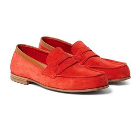 J.M. Weston - 281 Le Moc Suede Loafers