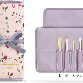 Les Merveilleuses LADURÉE - EYE SHADOW BRUSH SET