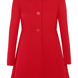 miu miu - Wool-crepe coat