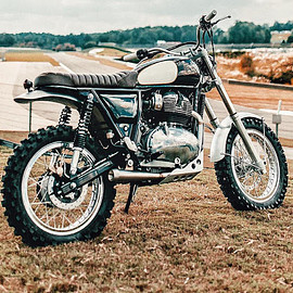 Revival Cycles - Desert Sled RE INT650 / Royal Enfield