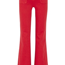 Alice + Olivia - Juno high-rise wide-leg jeans