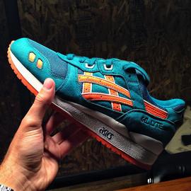 asics - Ronnie Fieg x ASICS GEL-Lyte III Teal Orange Miami Dolphins (1)